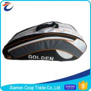 Outdoor Men Custom Tennis Racket Bag / Sports Gym Bag 70x60x20 Cm Size