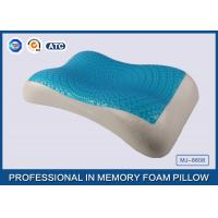 Cheap Therapeutic Memory Foam Cooling Gel Pillow with Soft Cover , Cooling Gel Bed Pillow for sale
