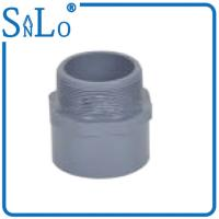 Male Grey Pvc Pipe Joints Couplings For Underground Pipe 20 - 110 Mm Suatomized