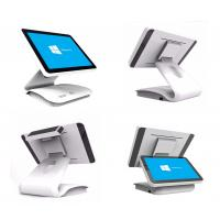 Cheap 15 . 6 Inch Capacitive Touch Screen POS Terminal White Color Fanless Factory Sales for sale