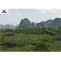 Quality Realistic Ultra Giant Dinosaur Statue For Jurassic Forest Decoration 110/220V wholesale
