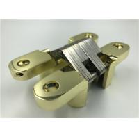 Gold Plated Heavy Duty Invisible Hinge Corrosion Resistance With SGS Certificate