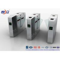 Cheap Metal Security Flap Barrier Gate  Access Control System With Fingerprint for sale