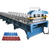 Roofing Sheet Roll Forming Machine , Roofing Corrugated Sheet Roll Forming Machine