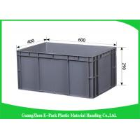 Cheap Customized Large Plastic Storage Containers , Warehouse Stackable Plastic Boxes for sale