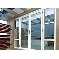 Arched Decorative Glass Entrance Doors Sound Insulation For