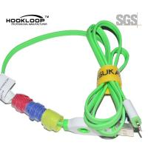 Electrial Wire Tie Hook And Loop Cable Ties , Welding Hook And Loop Fastener Straps