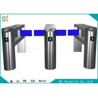 Quality 24v Electronic Automatic Supermarket Swing Barrier Gate Wicket Turnstiles wholesale
