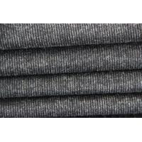 Detailed Light Line Style Stretch Knitted Wool Fabric For Garment