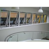 Cheap Powder Coating Metal Awning Windows , Top Hung Roof Window AS2047 Standard for sale