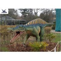 Cheap CE , RoHS Giant Dinosaur Statue Model Exhibition For Dinosaur Park Display for sale