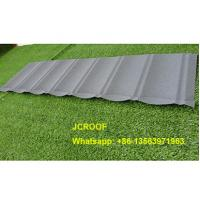 Quality 0.45mm / 0.5mm Stone Coated Steel Roof Tiles with 50 Years Warranty wholesale
