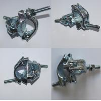 Buy cheap EN74 Drop Forged Galvanized 48.3mm Double Swivel Coupler in ladder scaffolding from wholesalers