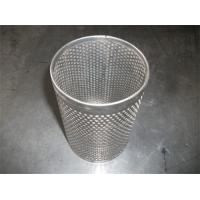 Cheap Plain / Twill Weave SS Filter Screen Mesh For Strainer , Strong Tension for sale