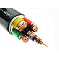 Cu - Conductor 5 Core Heat Resistant Cable , LSZH Power Cables Unarmoured