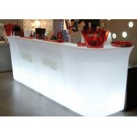 Buy cheap Cocktail Bar Furniture / LED Bar Counter Nightclub Bar Counter Design from wholesalers