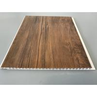 Cheap 10 Inch PVC Plastic Laminate Panels 2.6kg Per Sqm With Wooden Film For Ceiling for sale