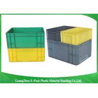 Cheap PP Plastic Logistic Euro Stacking Containers For Food Clothes Auto Medical 21.2L for sale