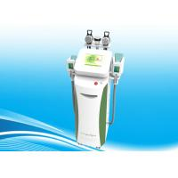 Cavitation And Rf Cryolipolysis Equipment / Cryolipolysis Slimming Machine For Non-Invasive Fat Reduction