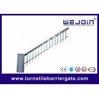 Cheap Traffic Commerrcial Car Barrier Gate , Vehicle Barrier Gates With Fence Boom for sale