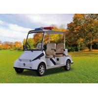 Police 4 Seater Electric Patrol Car , Electric Security Vehicles Street Legal