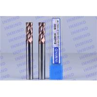 SiN Coating 12 mm Dia R0.5 Corner Radius End Mill 4 Flute 30 mm Cutting Length