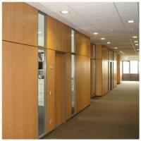 ... Quality Customized Soundproof Office Wooden Partition Wall , Movable  Room Dividers Wholesale ...