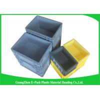 Cheap 45 Litre Plastic Euro Stacking Containers Easy Stacking Eco - Friendly 600 * 400 * 230mm for sale