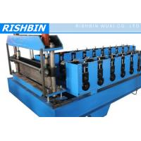 Cheap CE & ISO Metal Deck Roll Forming Machine with 22 KW Power for Floor Deck for sale