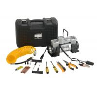 Buy cheap DC12V Double Cyliner Metal Vehicle Air Compressor Kit with Tools in Box from wholesalers