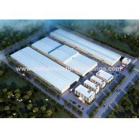 Cheap Temporary Steel Building Warehouses , Prefabricated Modular Building Systems for sale