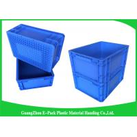 Cheap 400*300mm Mini Load Industrial Plastic Containers , Standard Euro Storage Boxes for sale