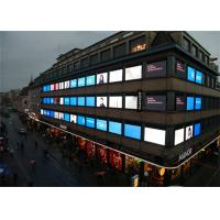 Iron P8 HD Led Window Display Screen For Shopping Mall Advertisiment , Energy Saving