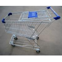 Cheap Metal Supermarket Shopping Trolley for sale