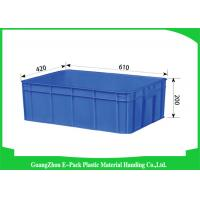 Cheap Euro Industrial Storage Bins , Large Plastic Containers Cold Chain Moisture 43L for sale