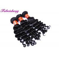 "Cheap 10""- 30"" Temple Virgin Indian Hair / Double Weft Brazilian Weave Bundles for sale"