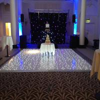 Quality RGB/LED 60x120cm cheap portable wooden dance floor used dance floor for sale wholesale
