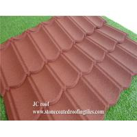 Cheap Stone Coated Steel Roof Tile Type and Al-Zn Alloy Coated metal Sheet Material Roof Tile for sale