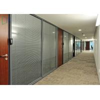 Quality Comercial Division Aluminium Wall Partition For Office With  Laminated Glass Wholesale ...