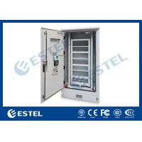 Dustproof  Rainproof Outdoor Battery Cabinet , Outside Base Station Cabinet