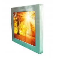 "12.1"" 1500nits high bright outdoor robust stainless steel full IP66/IP67 waterproof  touch Panel PC computer"