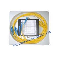 Compact Fused Biconical Taper FBT Coupler , optical fiber coupler for LAN Systems