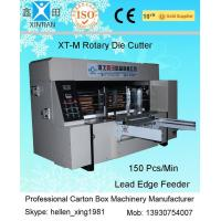 Buy cheap Corrugated Cardboard Rotary Die-Cutting Machine For Packaging / Printing Industrial from wholesalers