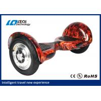 Flame Pattern 2 Wheel Smart Balance Electric Scooter Hoverboard 72*35*34cm Outer Carton