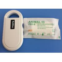 Cheap Pet ISO Transponder Microchip IP67 With 134.2khz Frequency , 10 Years Guarantee for sale