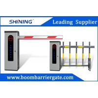 Cheap Outdoor Waterproof Road Boom Barrier Gate Automatic With LED Light for sale