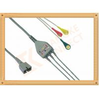 Cheap Ecg Patient MEK Cable 9 Pin One Piece 3 Leads for MEK MP1000  MP600  MP500 for sale