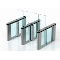 Cheap Luxury Rfid Card Automatic Systems Turnstiles High Speed 304 Or 316 Stainless Steel for sale