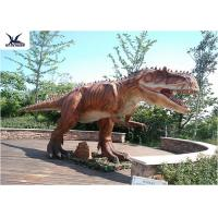 Cheap Playground Decoration Giant Dinosaur Statue Realistic Moving Animatronic for sale