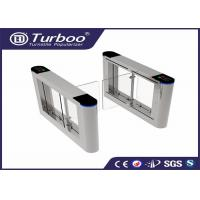 180 Degree Intelligent Access Control Turnstile Gate , Swing Barrier Gate